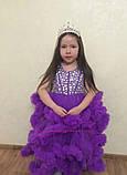 Детская диадема под серебро, тиара, высота 6,5 см., фото 10