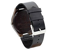 Деревянные наручные часы SkinWood Black, фото 2