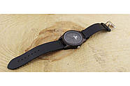 Деревянные наручные часы SkinWood Black, фото 4