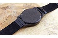 Деревянные наручные часы SkinWood Black, фото 5