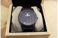 Деревянные наручные часы SkinWood Black, фото 6