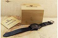 Деревянные наручные часы SkinWood Black, фото 8