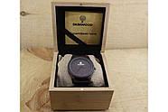 Деревянные наручные часы SkinWood Black, фото 9