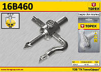 Сверло для отверстий в кафеле Ø-40...90мм,  TOPEX  16B460