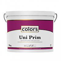 Colors Uni PRIM 14 кг універсальна штукатурна грунтовка з кварцовим піском