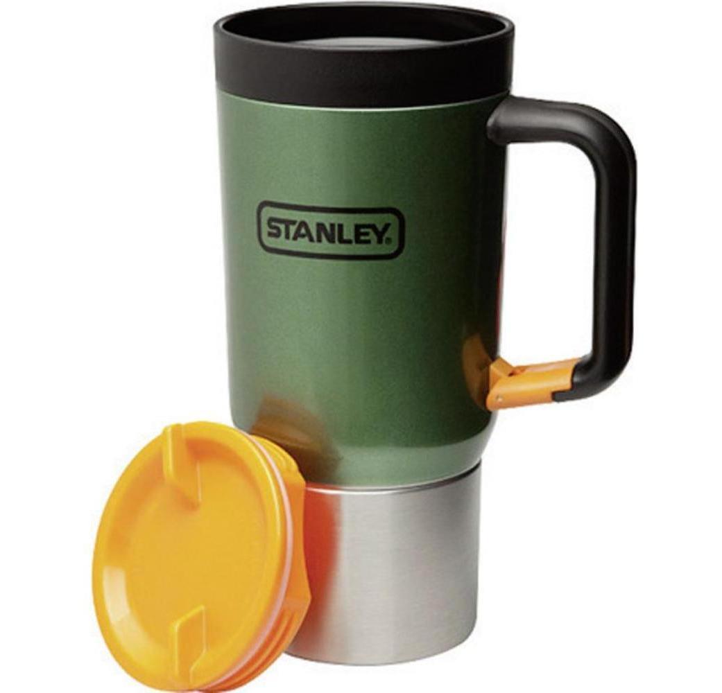 Термокружка Stanley Adventure Clip Grip (0, 59 л) зеленый