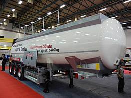 Бензовоз алюминиевый OZTREYLER 32 000 л