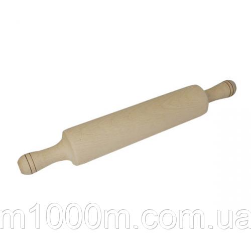Скалка деревянная 39*6,5 см СТ 101-003