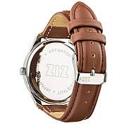 """Часы наручные """"Минимализм"""" (коричневый-серебро) + дополнительный ремешок, фото 2"""