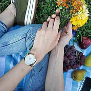 """Часы наручные """"Минимализм"""" (металлик-золото) + дополнительный ремешок, фото 5"""