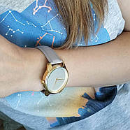 """Часы наручные """"Минимализм"""" (лавандовый-золото) + дополнительный ремешок, фото 4"""