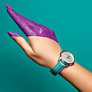 """Часы наручные """"Минимализм"""" (голубой-серебро) + дополнительный ремешок, фото 4"""
