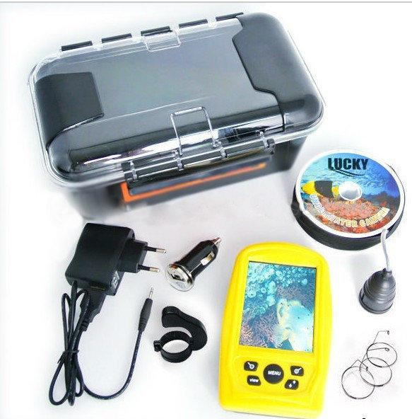 Подводная камера для зимней и летней рыбалки LUCKY Fish finder FF 3308-8