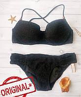 Купальник Раздельный Victoria's Secret плавки Small, топ - 32DD 70DD, Оригинал,  Виктория Сикрет, фото 1
