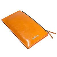 ✓Женский кошелек Baellerry CK830 Оранжевый для денег визиток кредитных карточек удобный модный