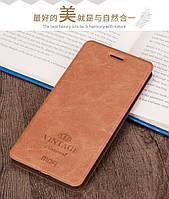 Чехол книжка Mofi для Xiaomi Mi A2 Lite / Redmi 6 Pro Brown (Коричневый)