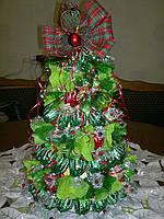 Сувенирная новогодняя елка из конфет