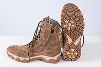 Берци замшеві чоботи Койот, фото 1
