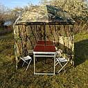 "Зонт-палатка диаметр 2.2 метра ""Дубок"" (2 окна ПВХ), фото 3"