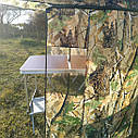 "Зонт-палатка диаметр 2.2 метра ""Дубок"" (2 окна ПВХ), фото 4"