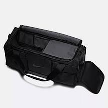 Сумка спортивная Nike Vapor Power Men's Training Duffel Bag Medium BA5542-010 Черный (882801427527), фото 3