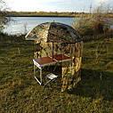 "Зонт-палатка диаметр 2.2 метра ""Дубок"" (2 окна ПВХ), фото 7"