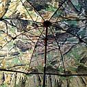 "Зонт-палатка диаметр 2.2 метра ""Дубок"" (2 окна ПВХ), фото 9"