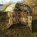 "Зонт-палатка диаметр 2.2 метра ""Дубок"" (2 окна ПВХ), фото 2"