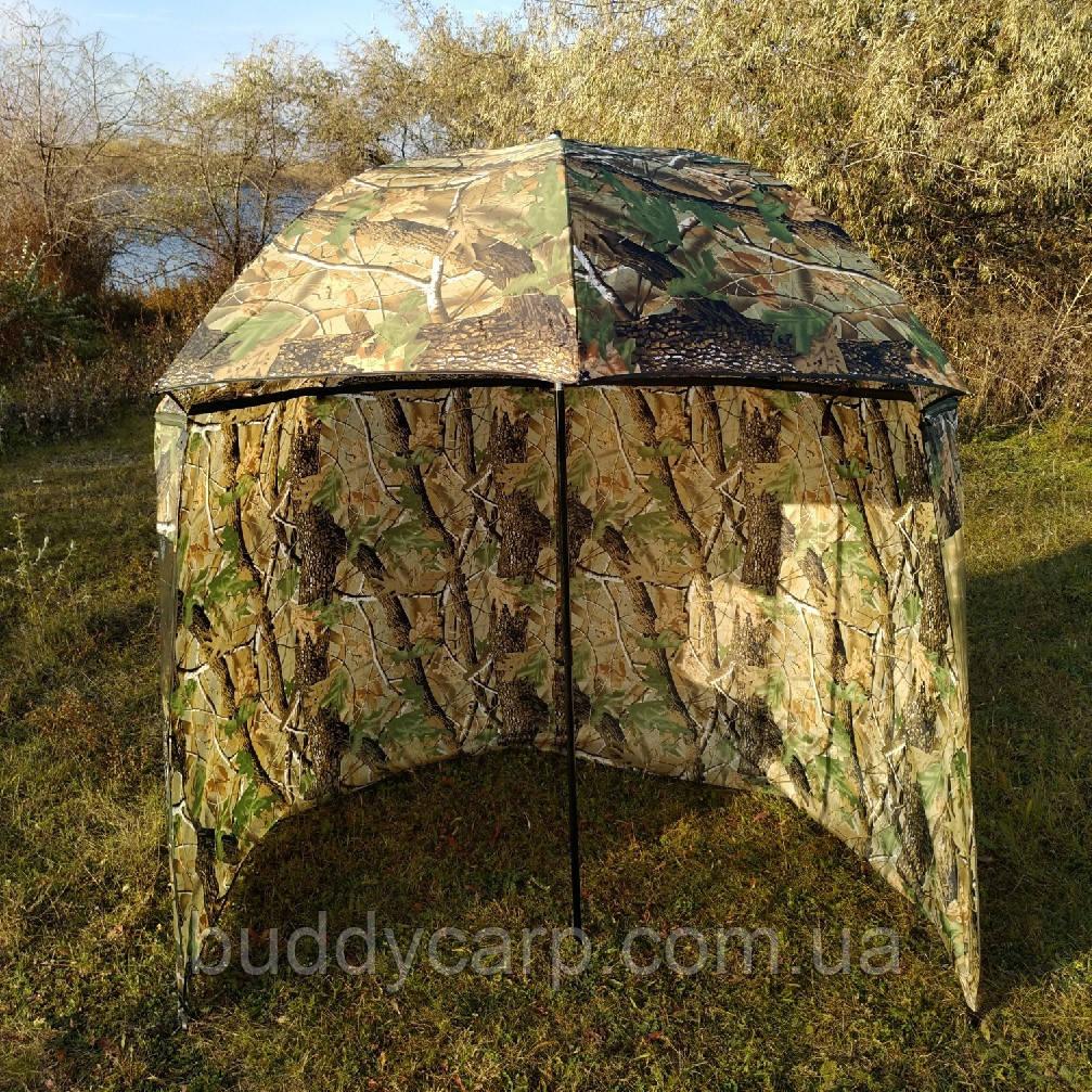 "Зонт-палатка диаметр 2.2 метра ""Дубок"" (2 окна ПВХ)"