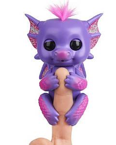 Дракончик Ноа (Фиолетовый) ручной интерактивный  W3580/3582