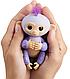 Интерактивная гламурная ручная обезьянка (фиолетовая) Кики W3760/3762, фото 2