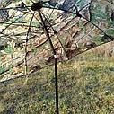 "Зонт-палатка диаметр 2.2 метра ""Дубок"" (2 окна ПВХ), фото 10"
