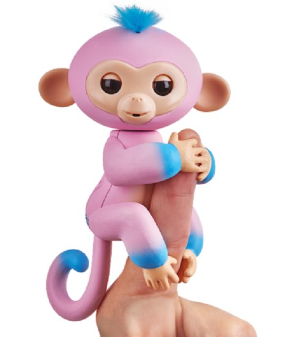 Інтерактивна ручна мавпочка двоколірна (рожево-блакитна) Кенді W37204/3722