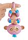 Інтерактивна ручна мавпочка двоколірна (рожево-блакитна) Кенді W37204/3722, фото 2