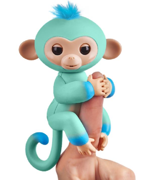 Інтерактивна ручна мавпочка двоколірна (зелено-синя) Едді W37204/3724