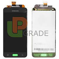 Дисплей для Samsung G570F Galaxy J5 Prime (2016) + тачскрин, черный, TFT, копия, без регулировки яркости