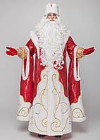 Костюм Деда Мороза Верховный красный