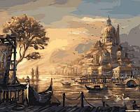 Раскраска по номерам Вечерняя Венеция (VPS051) 50х65 см