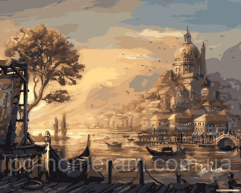 Раскраска по номерам DIY Babylon Вечерняя Венеция (VPS051 ...