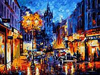 Раскраска по номерам DIY Babylon Амстердам 1905 худ Афремов, Леонид (VPS075) 50 х 65 см