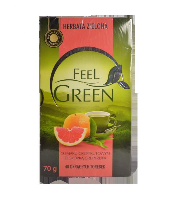 Чай зеленый Feel Green  40 пакетов