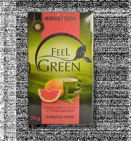 Чай зеленый Feel Green  40 пакетов, фото 2