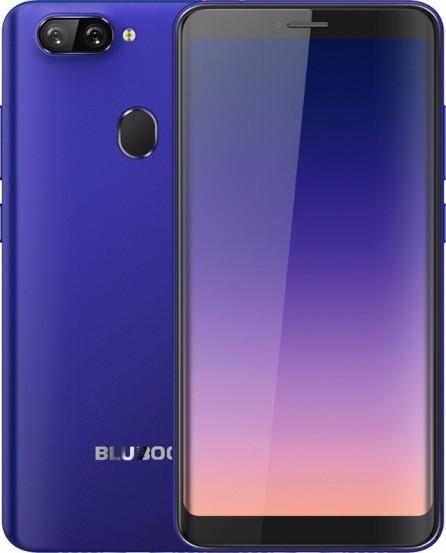 "Смартфон Bluboo D6 2/16Gb Blue, 5+5/5Мп, 5.5"" IPS, 2sim, 3G, 2700мАh, 4 ядра, GPS, MT6580"