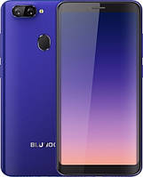"Смартфон Bluboo D6 2/16Gb Blue, 5+5/5Мп, 5.5"" IPS, 2sim, 3G, 2700мАh, 4 ядра, GPS, MT6580"