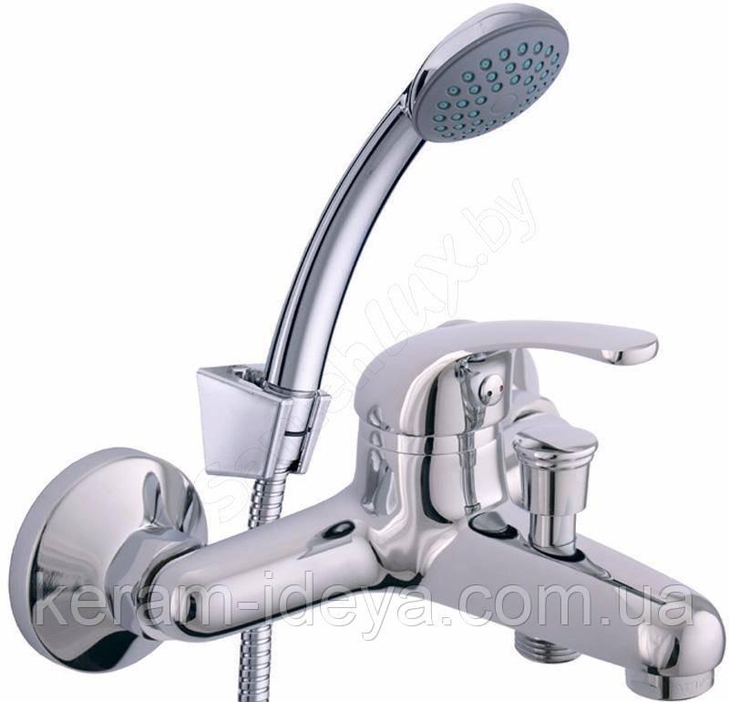 Смеситель для ванны настенный Rubineta Optima-10/K O10K08