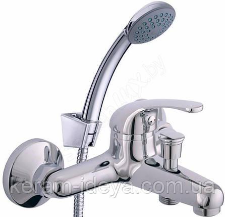 Смеситель для ванны настенный Rubineta Optima-10/K O10K08, фото 2