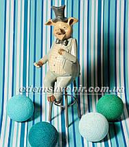 Статуэтки декоративные Свин на стуле и Свинка с зонтиком, фото 3