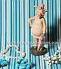 Статуэтки декоративные Свин на стуле и Свинка с зонтиком, фото 4