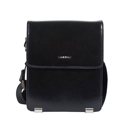 c34b0f13485c Мужская кожаная сумка HT 2925-3 черная (20,5х16,5х7 см) купить в ...