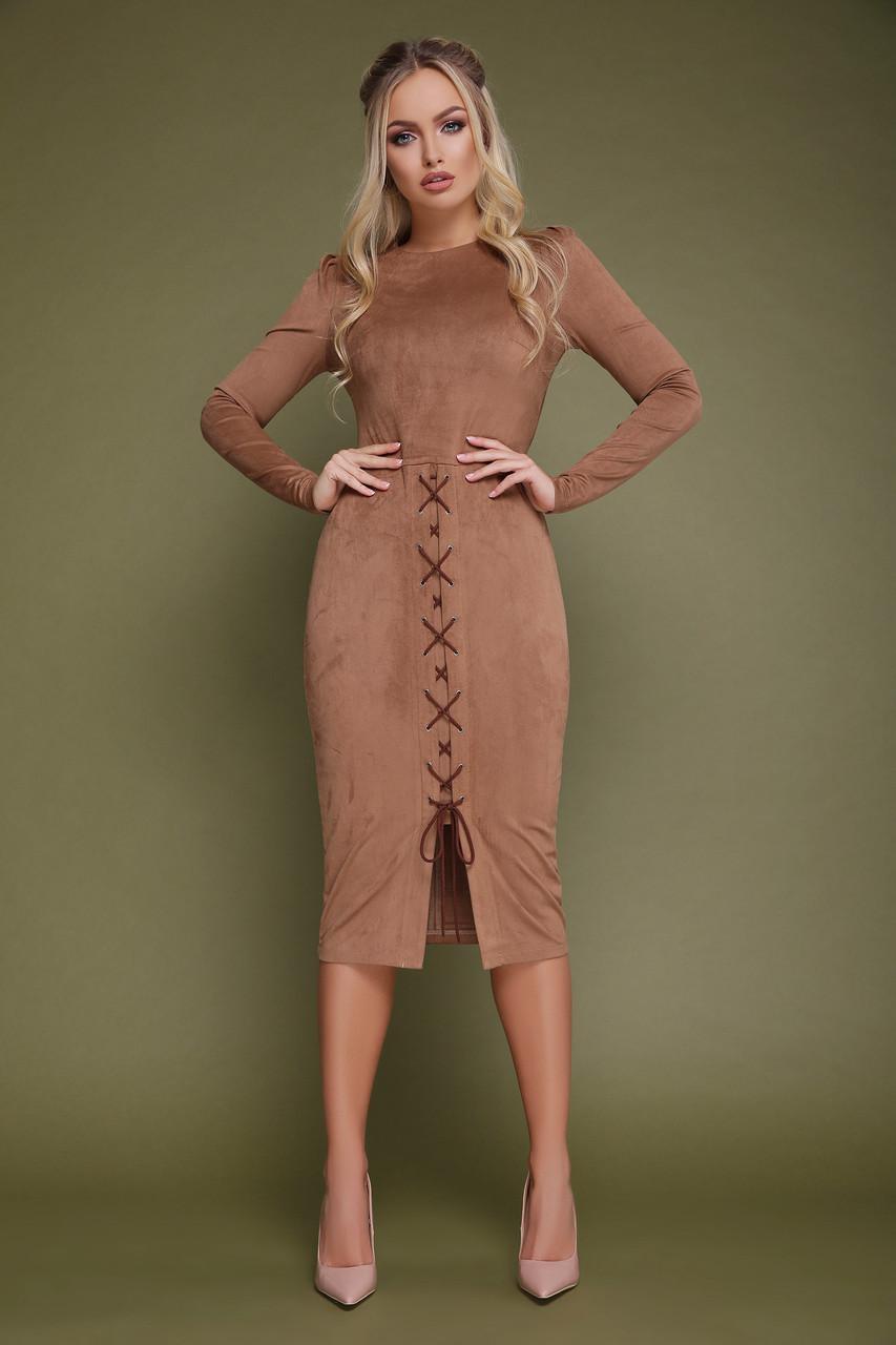 e0868afc18bb1da Платья миди женские ,платье замшевое модное ,стильные платья замш ,платье  замшевое деловое ,